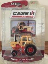 Case 1370 Sunset Yellow & Orange Tractor w Collector Card NIP 1/64 by Ertl