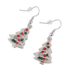 Christmas Tree Crystal Stud Earrings Dangle Earrings Drop Earrings Christmas