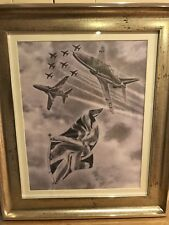 "Red arrows"" flying the flag""Limited edition print"