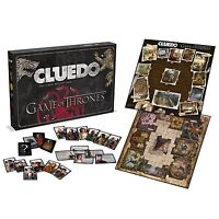 Cluedo Game Of Thrones Board Game Brand New Gift