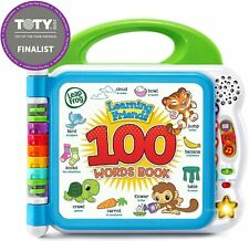 Learning Friends 100 Words Book Educational Toys Gift for Kids,Children,Toddler
