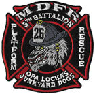 Miami Dade, FL Station 26 Platform/Rescue Junkyard Dog Fire Patch