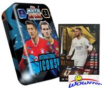 20/21 Topps Match Attax Champions League INTERNATIONAL ICONS Tin-Eden Hazard LE