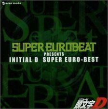 USED Initial D - Super Euro Best CD