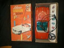 VINTAGE SCHUCO 2095 MERCEDES-BENZ FERNLENK WIND UP TINPLATE TOY CAR GERMANY BOX