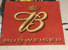 Budweiser Beer Metal Tin Sign Bud Light King Of Beers