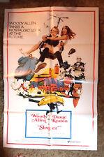 1980 Sleeper 1-Sheet Movie Poster- Woddy Allen/Diane Keaton- Folded (MHPO-016)