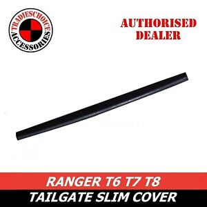 1 PCS TAILGATE RAIL GUARD CAP PROTECTOR REAR COVER FOR FORD RANGER 2012-2021