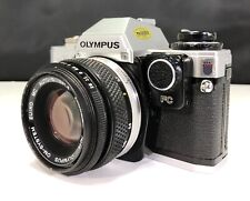New ListingOlympus Om-10 35mm Slr Film Camera Manual Adapted With 50mm Zuiko 1.8 Lens