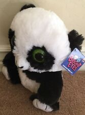 "10"" Peek a Boo Toys Bright Eyes Panda Bear Plush - NWT"