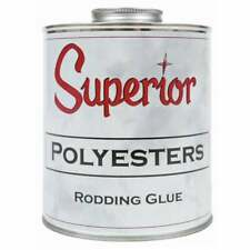Superior Polyester Rodding Glue Adhesive 1 Gallon