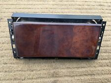 Mercedes SL R129 Centre Console Wood Flip Door With Flock Lining Box