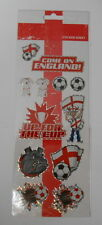 """BEAUTIFUL FUN STICKERS """" COME ON ENGLAND """" FOR CARDS & CRAFT"""