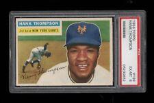 1956 Topps BB #199 Hank Thompson New York Giants 1954 WS CHAMP PSA EX-MT 6 !!!