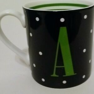 Kate Spade Lenox To The Letter  'A'  Coffee Cup Mug