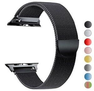 Milanese Loop Strap Watch Replacement Band Fit For Apple Watch Series 1/2/3/4-UK