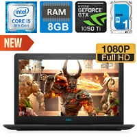 *NEW* Dell Gaming G3 Intel Core i5-8300H / NVIDIA GTX 1050Ti / 8GB /1TB Hybrid
