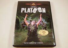 Platoon DVD Tom Berenger, Willem Dafoe, Charlie Sheen, John C. McGinley
