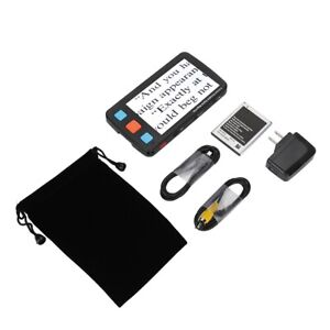 5in LCD Low Vision Digital Magnifier Electronic Reading Aid 4-32X HD Visual Aid
