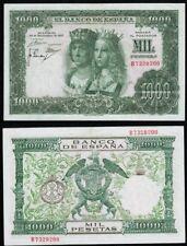 1000 Pesetas 1957 Reyes Católicos. Serie B 7329200. NO CIRCULADO BONITO.