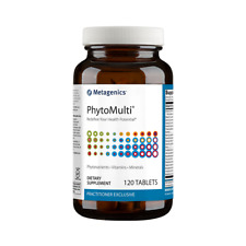 Metagenics Phytomulti Without Iron Tablets, 120 Count 🌿FREE SHIPPING🌿