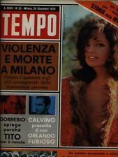 TEMPO N. 52/26 DICEMBRE 1970 PRIMA EDIZIONE AA.VV. ALDO PALAZZI EDITORE 1970