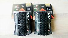 2x Vittoria AKA MTB Folding Tyre 27.5 inch Black 2.2 TNT 56-584 Tubless Ready