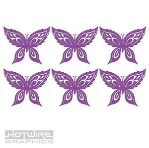 Wall & Tile Sticker Pack - Vinyl Decals - Butterflies Wings - Kitchen & Home
