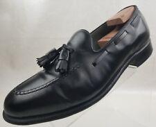 Florsheim Imperial Loafers Tassel Black Leather Slip On Mens Shoes Size 10.5E