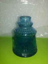 vintage cape may bitters blue shaker by wheaton