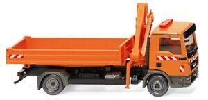 "Wiking 067505 - 1/87 Camion de Bataille Avec Grue Chargement (Man Tgl ) """