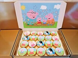 Peppa Pig Chocolate Coins, Box of 80, Stocking Filler,