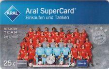 ARAL SUPERCARD, MANNSCHAFT, TEAM, FC BAYERN MÜNCHEN, 5-fach Payback-Punkte