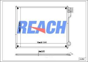 A/C Condenser-GAS Reach Cooling 31-3753