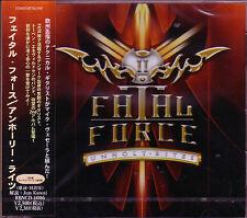 FATAL FORCE Unholy Rites +1 JAPAN CD 2nd 2012 Danish Torben Enevold Mike Vescera
