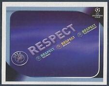 PANINI UEFA CHAMPIONS LEAGUE 2008-09- #006-RESPECT CAMPAIGN