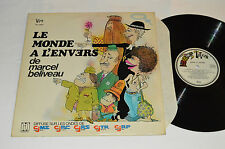 MARCEL BELIVEAU Le Monde a L'Envers de LP Totem Records TO-9207 Quebec Comedy