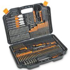 VonHaus 246pc Drill Bit Set & Carry Case - Includes Titanium HSS Drill Bits