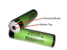 Button Top/Protected/Authentic Panasonic NCR18650B/3400mAh Li-Ion/For Flashlight