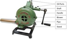 Blacksmith Forge Blower Mini Hand Crank Manual Fan