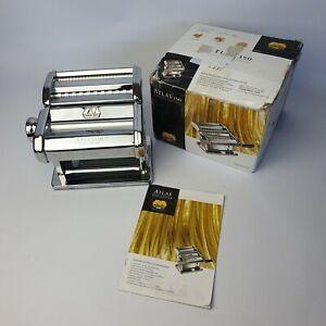 Marcato Atlas Model 150 Pasta Set Machine Chrome Boxed