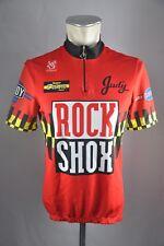 De Marchi Rock Shox Team Trikot Gr L BW 52cm cycling jersey Fahrrad J