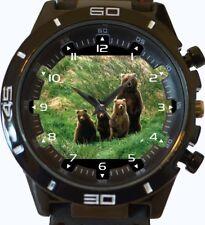 Reloj De Pulsera Hermosa Mama Oso y los Cachorros Scouts Nueva Serie GT Deportes Unisex
