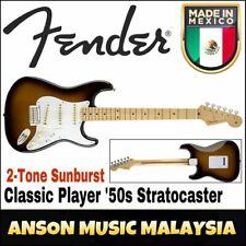 Fender Classic Player '50s Stratocaster, Maple Fingerboard, 2-Tone Sunburst