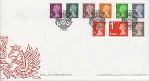 GB Großbritannien FDC 2013 Machin Definitives Elisabeth II  MiNr. 3387-3395