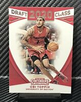 2020 Panini Contenders Obi Toppin Draft Class Rookie Card RC New York Knicks