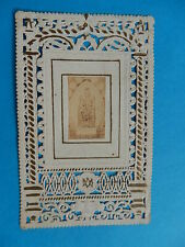 IMAGE PIEUSE HOLY CARD CANIVET MARIE JE VOUS SALUE  THFR