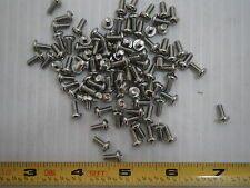 Machine Screw 6/32 x 5/16 Phillips Pan Head Steel lot of 100 #1758