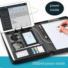 Business Folder Document Portfolio Presentation Bag Pu Leather File Work Office