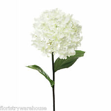 Artificial Hydrangea Stem Vintage Cream 68cm/26.75 Inches